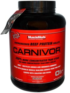 640rb/ 085642299885 / MuscleMeds Carnivor Beef Protein Isolate, 4.6 Lbs Murah