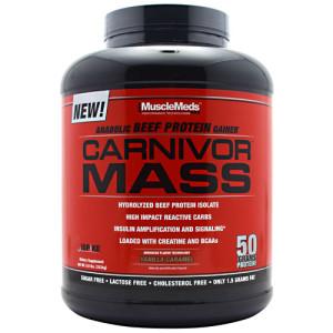 640rb/ 085642299885 / MuscleMeds Carnivor Mass (5.7 Lbs)